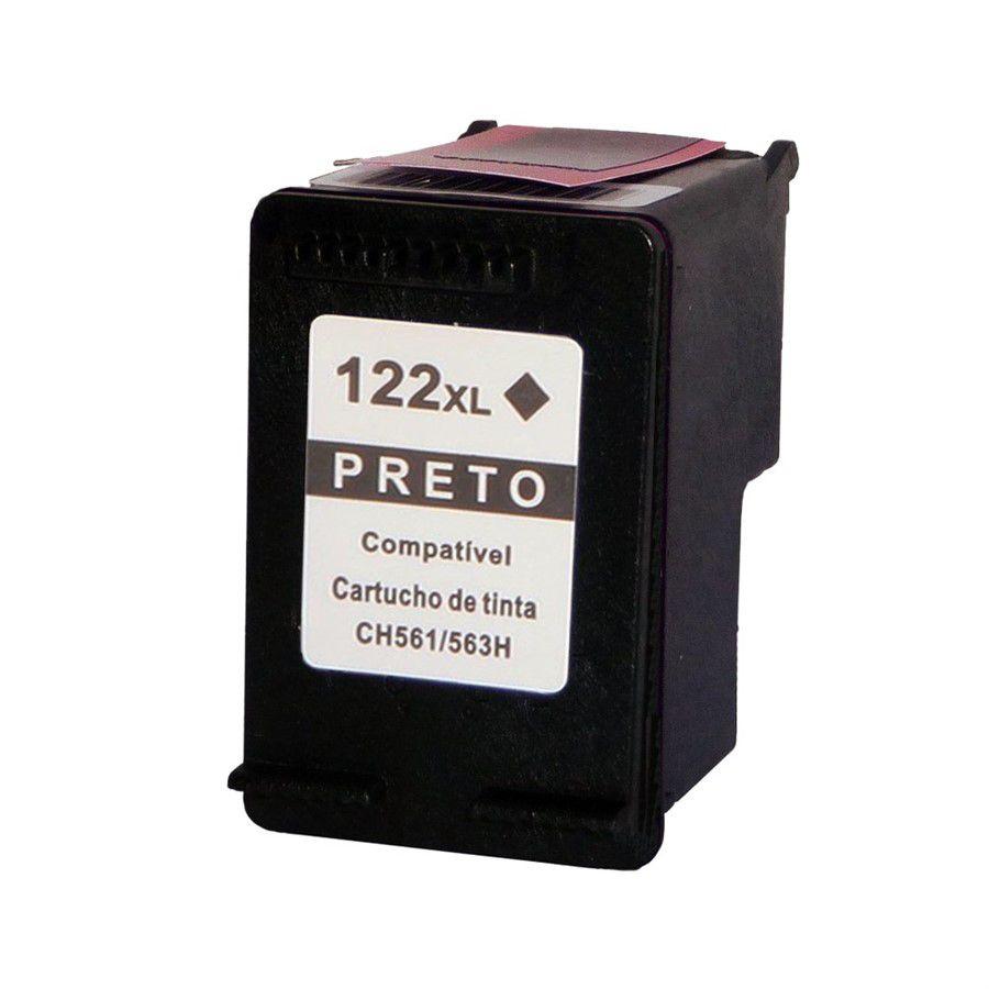 Cartucho HP 122XL 122 CH564HB Preto  17ml COMPATÍVEL