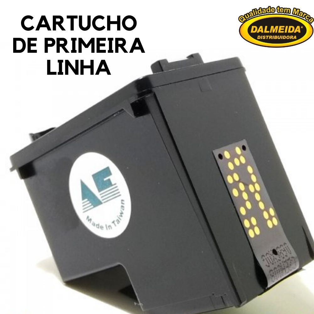 Cartucho HP 662XL 662 CZ106AB CZ106AL Color COMPATIVEL|