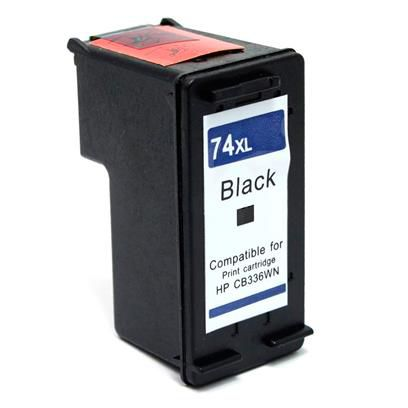 Cartucho HP 74XL CB336WB Preto Compatível | Photosmart C4480 C4280 C5280 | 25ml