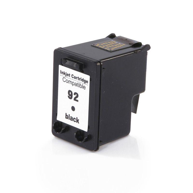 Cartucho HP 92 C9362WB Preto COMPATÍVEL| D4100 6210 2570 PSC-1507