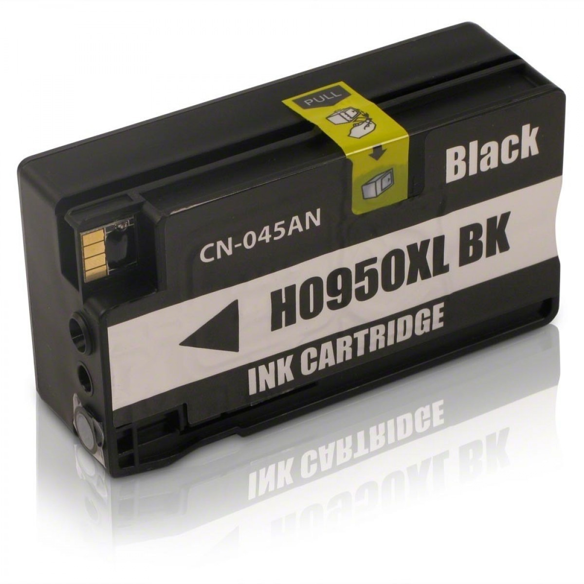 Cartucho  HP 950XL 950 CN045A Black 950XL CN-045A, CN045, CN-045 Preto Compativel | Officejet 8100 Officejet 8600W