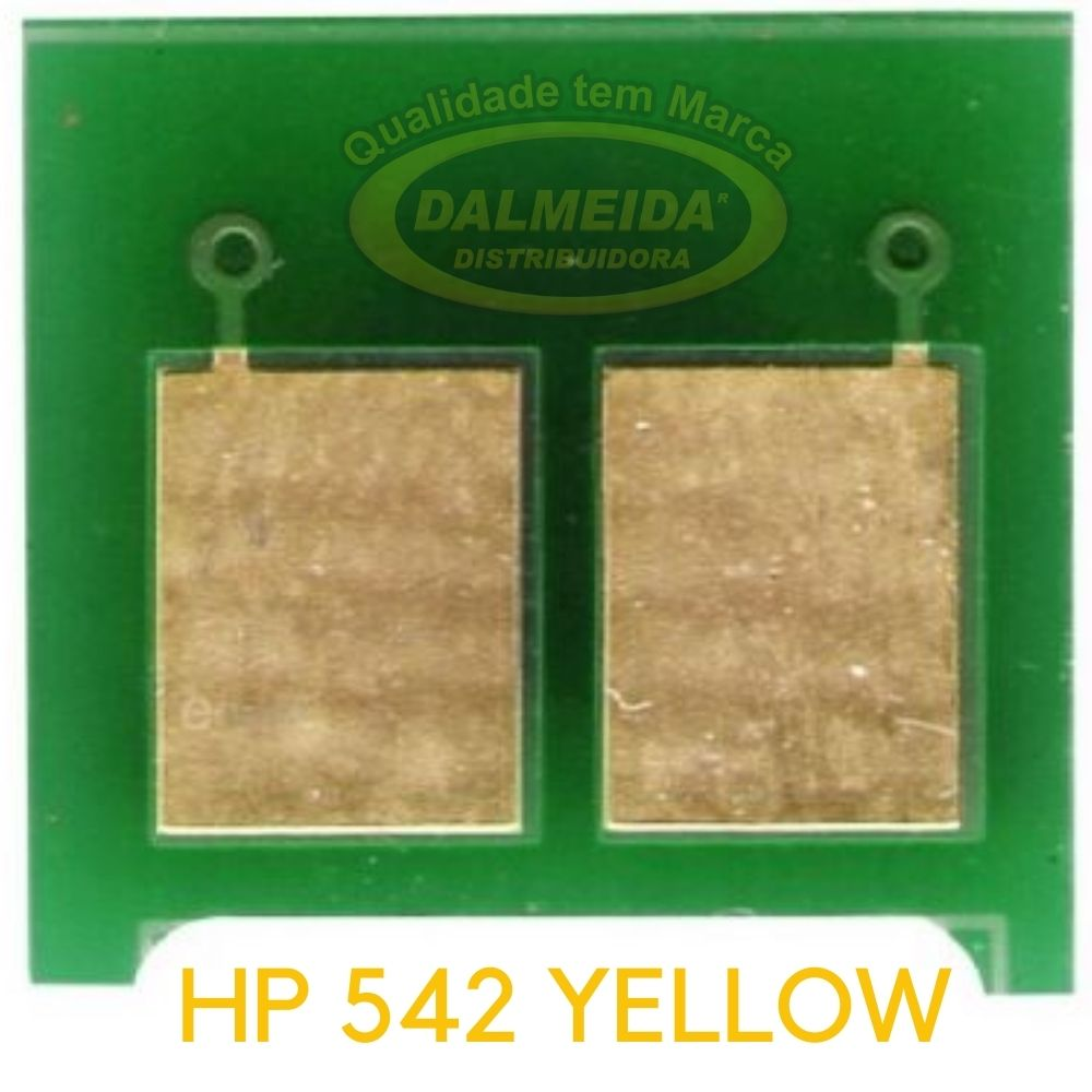 CHIP HP 412/532/312/212/322/542 YELLOW