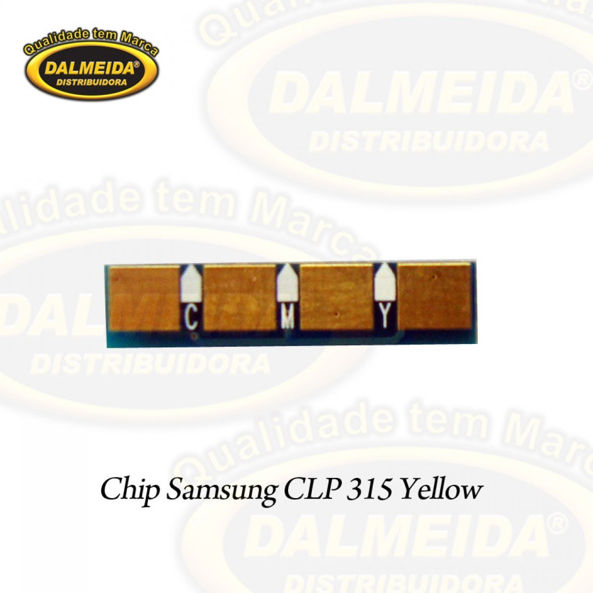 CHIP SAMSUNG CLP 315/ YELLOW
