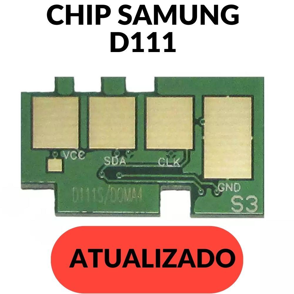 CHIP SAMSUNG MLT - D 111 BK-D111-D111S     **Atualizado** 2020 2070 2022