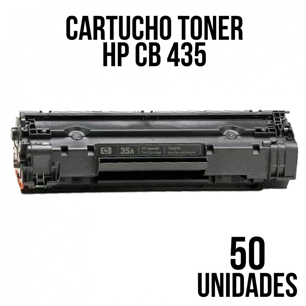 TONER HP 285 / 85a / CE285 / 278 / 85 / 436 / 435/ P1005 / 1006 / 1505 / 1505N / M1552N / COMPATIVEL 50 UNIDADES