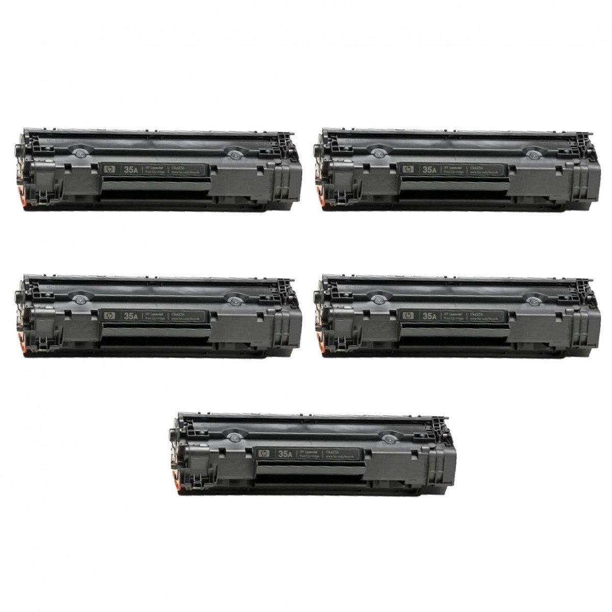 TONER HP 285 / 85a / CE285 / 278 / 85 / 436 / 435/ toner 85a /P1005 / 1006 / 1505 / 1505N / M1552N / COMPATIVEL 5 UNIDADES