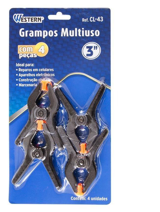 GRAMPOS MULTIUSO 3 COM 4 PEÇAS