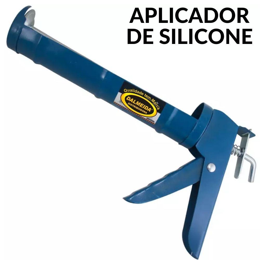 Pistola Aplicador para Silicone 305ml Western - 364
