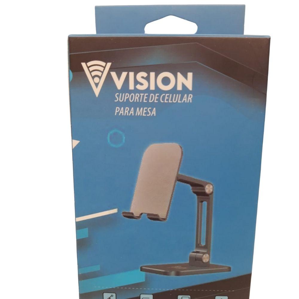 Suporte Celular Smartphone Mesa Universal Ajustável Luxo - vision
