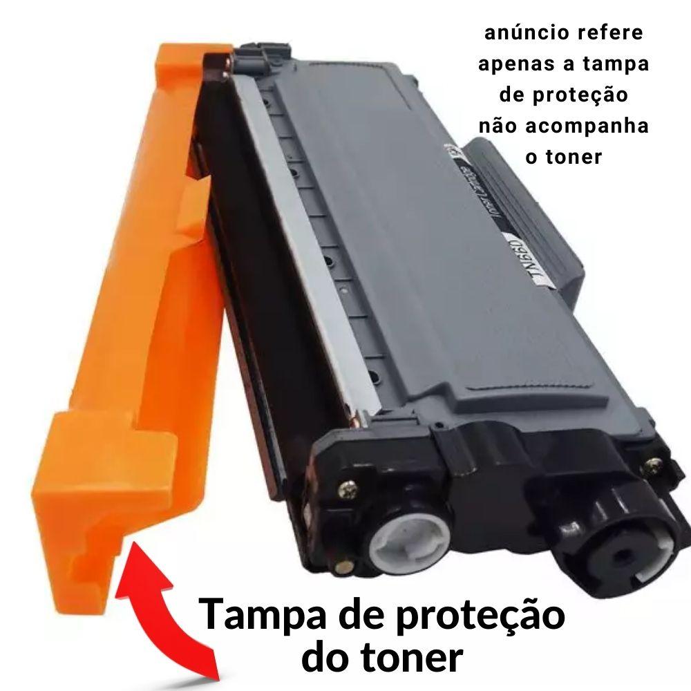 TAMPA DEVELOPER OPC COVER BROTHER TN 2340 TAMPA DE PROTEÇÃO TONER BROTHER TN2340