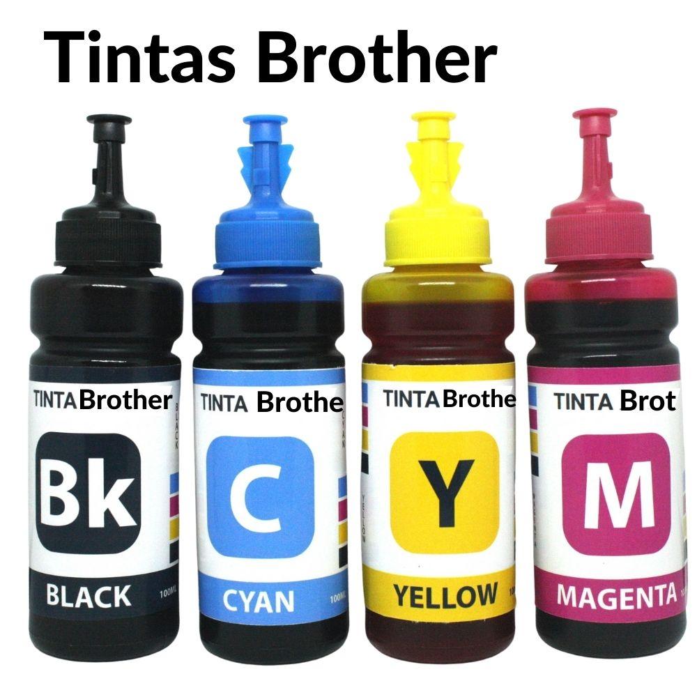 TINTA BROTHER | MFC-T810W MFC-T4500DW MFC-T910DW HL-T4000DW |BTD60BK BT-D60 100ML CADA COR