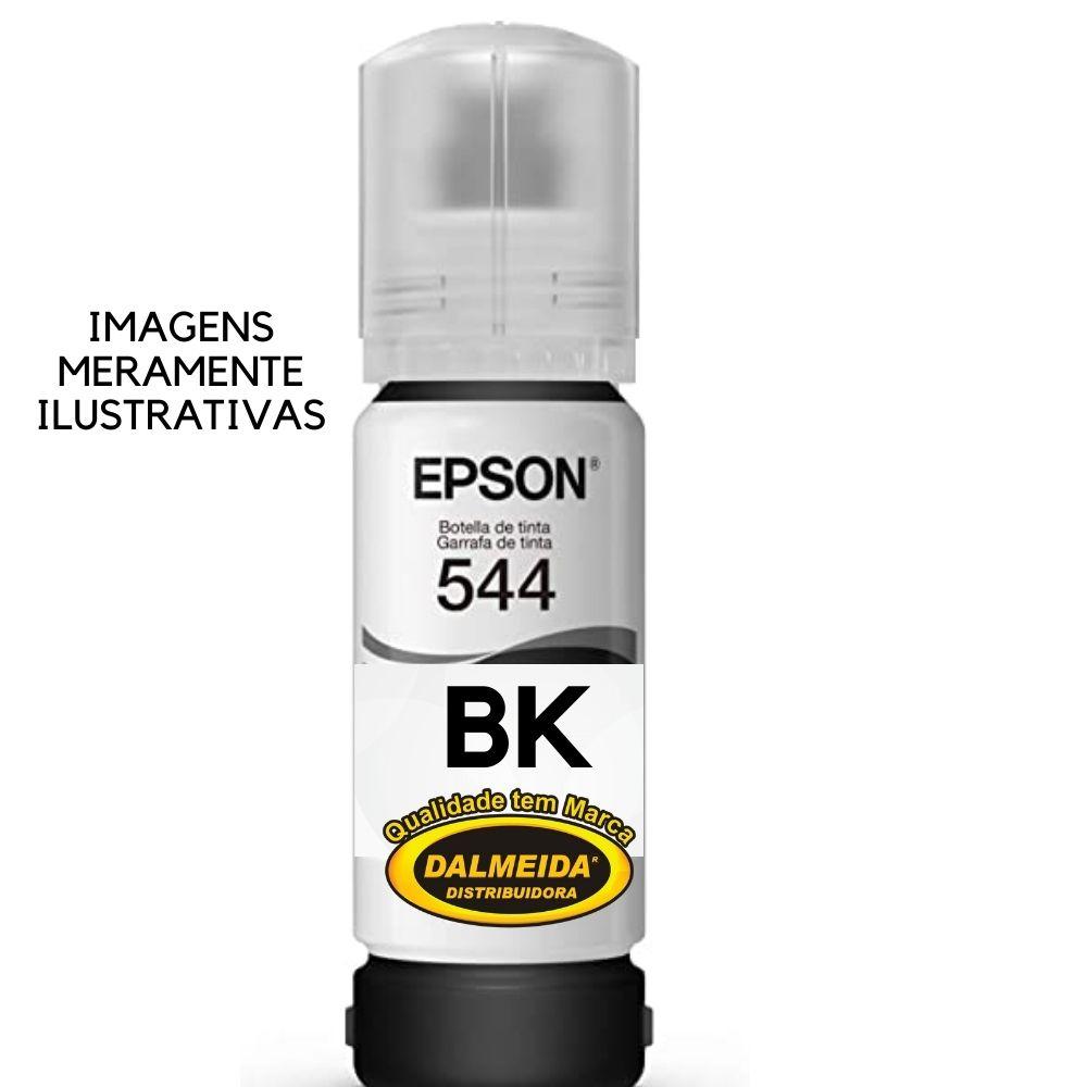 TINTA EPSON 544 ,T544 ,T544120,PRETO 70ML  REFIL | L3150 L3110 L5190 5190 3150 3110
