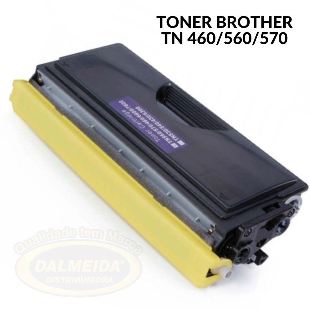 TONER BROTHER TN460-460-560-570-HL1200-1200-HL5040-8350-1030-5750-HL1440-MFC8440-8360-8600-8300-5440-8040 COMPATIVEL