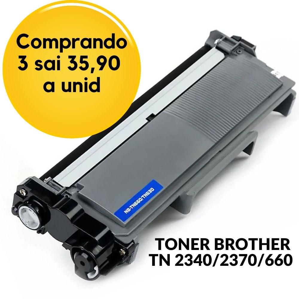 TONER BROTHER  TN660 TN-660 para Brother HL-L2340DW MFC-L2740DW Compatível
