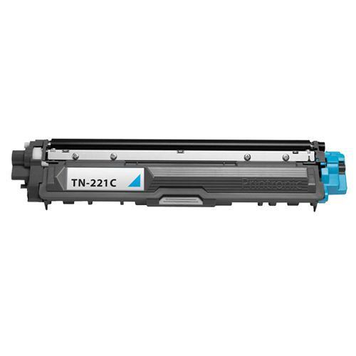 TONER   BROTHER  TN-221C TN221 Ciano | HL3140 HL3170 DCP9020 MFC9130 MFC9330 | COMPATIVEL 1.4k