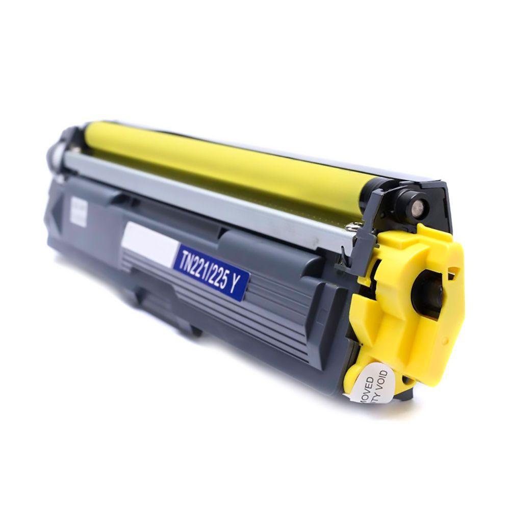 Toner Compatível Brother TN-221Y TN221 Amarelo | HL3140 HL3170 MFC9130 MFC9330 | Premium 1.4k