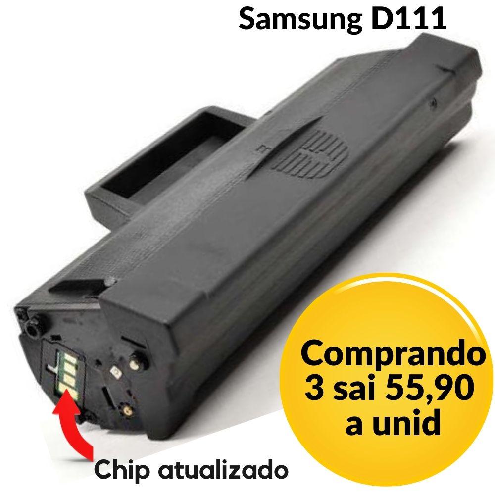 Toner Compatível Samsung MLT-D 111S D 111S  D111| M2020 M2020FW M2070 M 2070 W M2070FW **Atualizado** 111