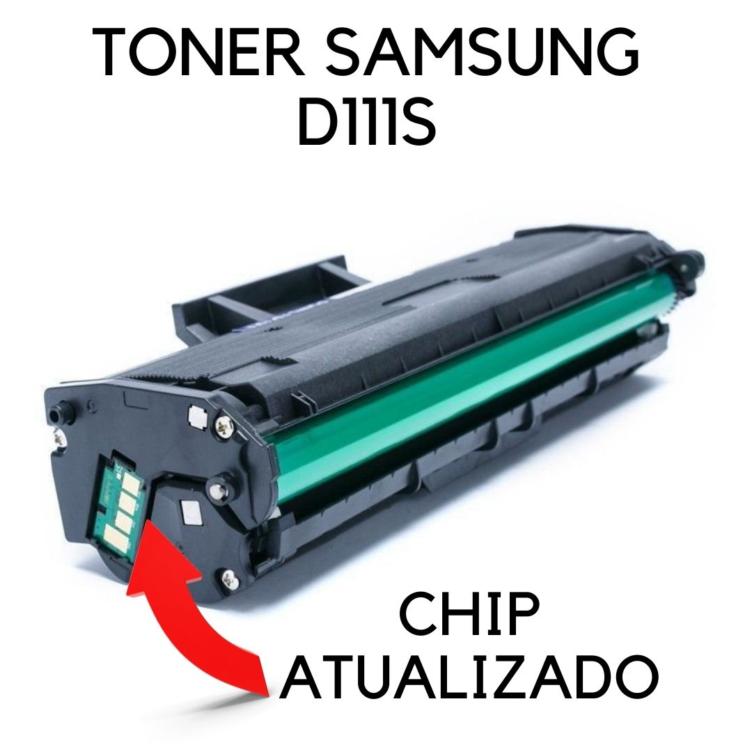 Toner Compatível Samsung MLT-D 111S D 111S | M2020 M2020FW M2070 M2070W M2070FW **Atualizado** 111