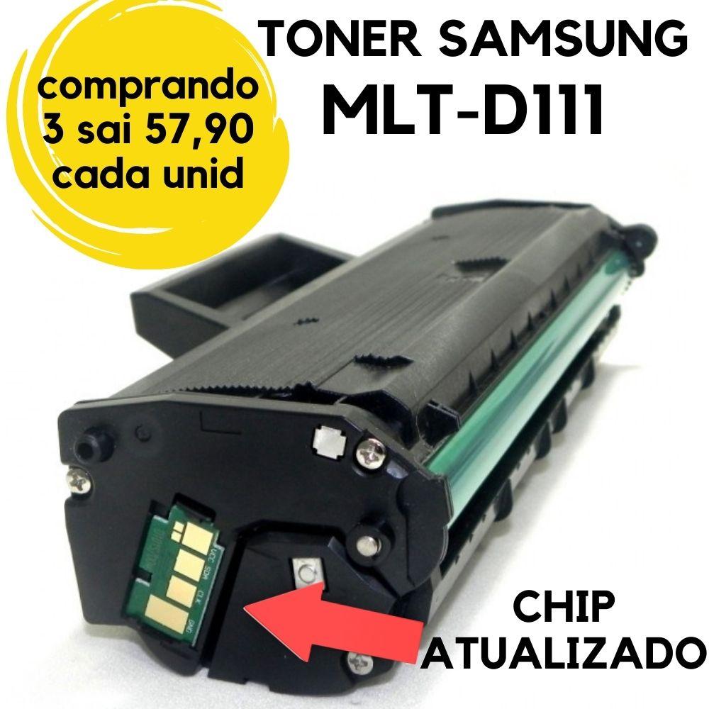 Toner Compatível Samsung MLT-D 111S D 111S | M2020 M2020FW M2070 M 2070 W M2070FW **Atualizado** 111
