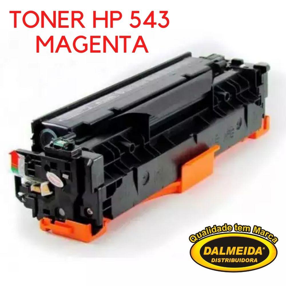 Toner HP 543/MAGENTA/1215/3232/1312/1312MFP/1312N/1312N/1312NFI/1215/1515N/1515/1415FNW compativel1525, 1525, 1525NW ,1525NW,pro200
