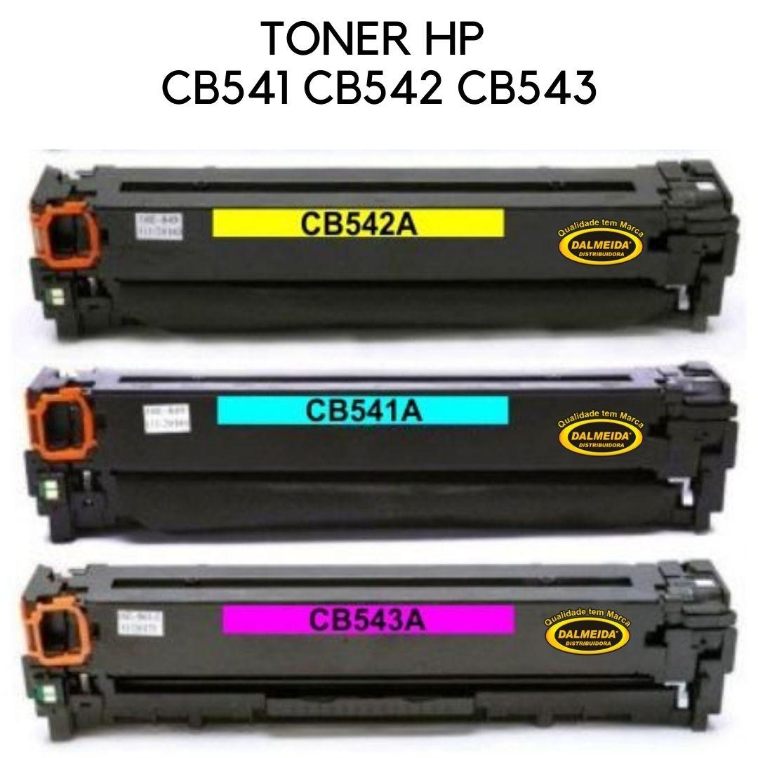 KIT TONER HP CB541A,CB542, CB543, CE321, CE322, CE323 ,CF211. CF212,CF213 -OEM ( HP 125A ) ( HP 128A ) ( 131A )
