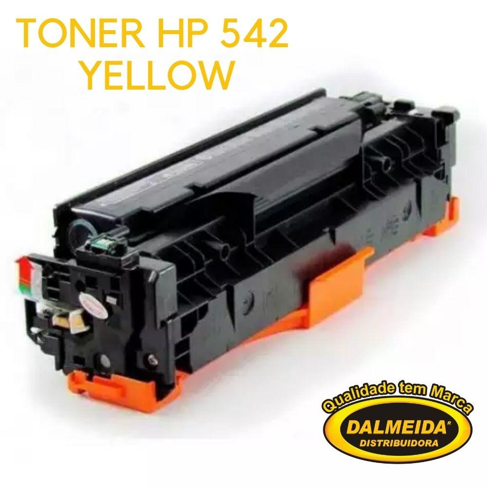 Toner HP CB542/AMARELO/1215/322/212 Yellow/1312/1312MFP/1312N/1312N/1312NFI/1215+1515N+1515+1415FNW+1525+1525 pro200,compativel.