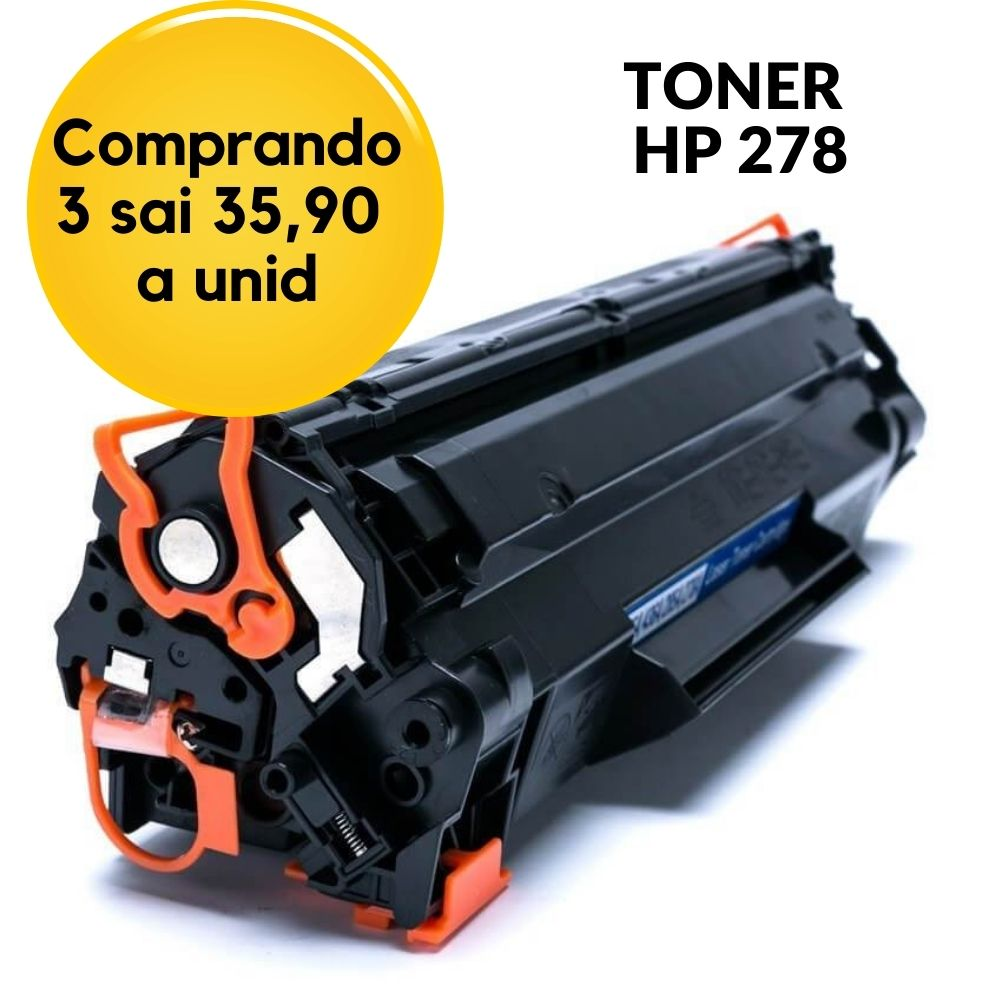 TONER  HP CE278A,HP278,78, 278 , | P1566 P1606 P1606N P1606DN M1530 M1536 M1536DNF COMPATÍVEL