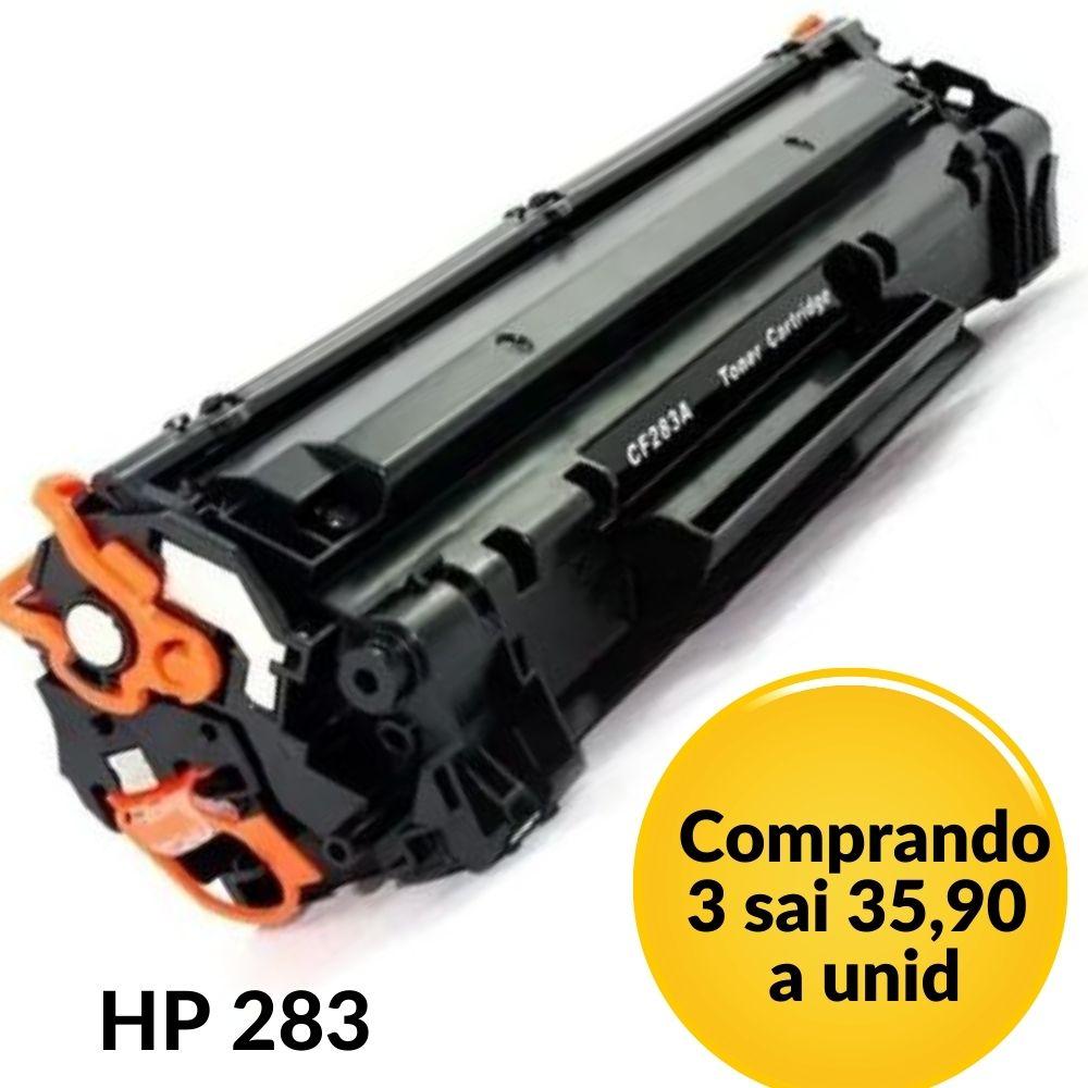 Toner  HP CF283A,hp283, 283, 83A compatível  | M127FN M127FW M127 M125 M201 M225 M226 M202 M201DW