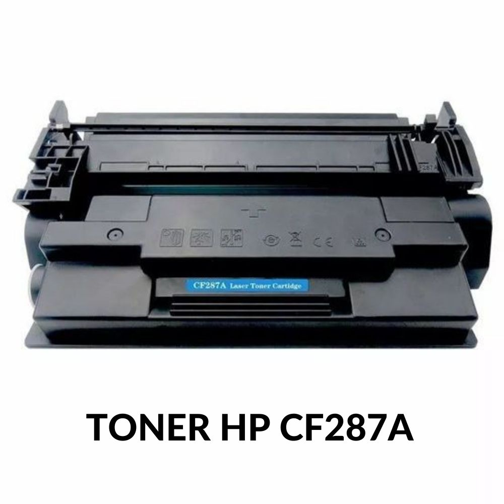 TONER HP CF287A , CF287AB , 87A , 87 , hp87 , hp87a LASERJET M506DN M506X M527DN M501DN 9k