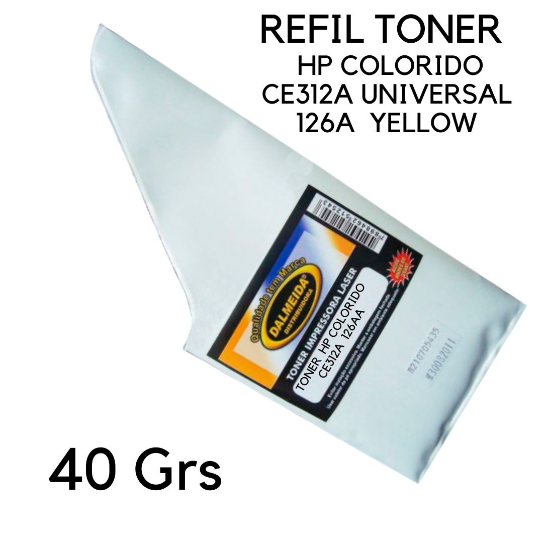 Toner  HP COLORIDO CE312A Universal 126A Yellow | CP1020 CP1025 CP1025NW M175 M175A small bag