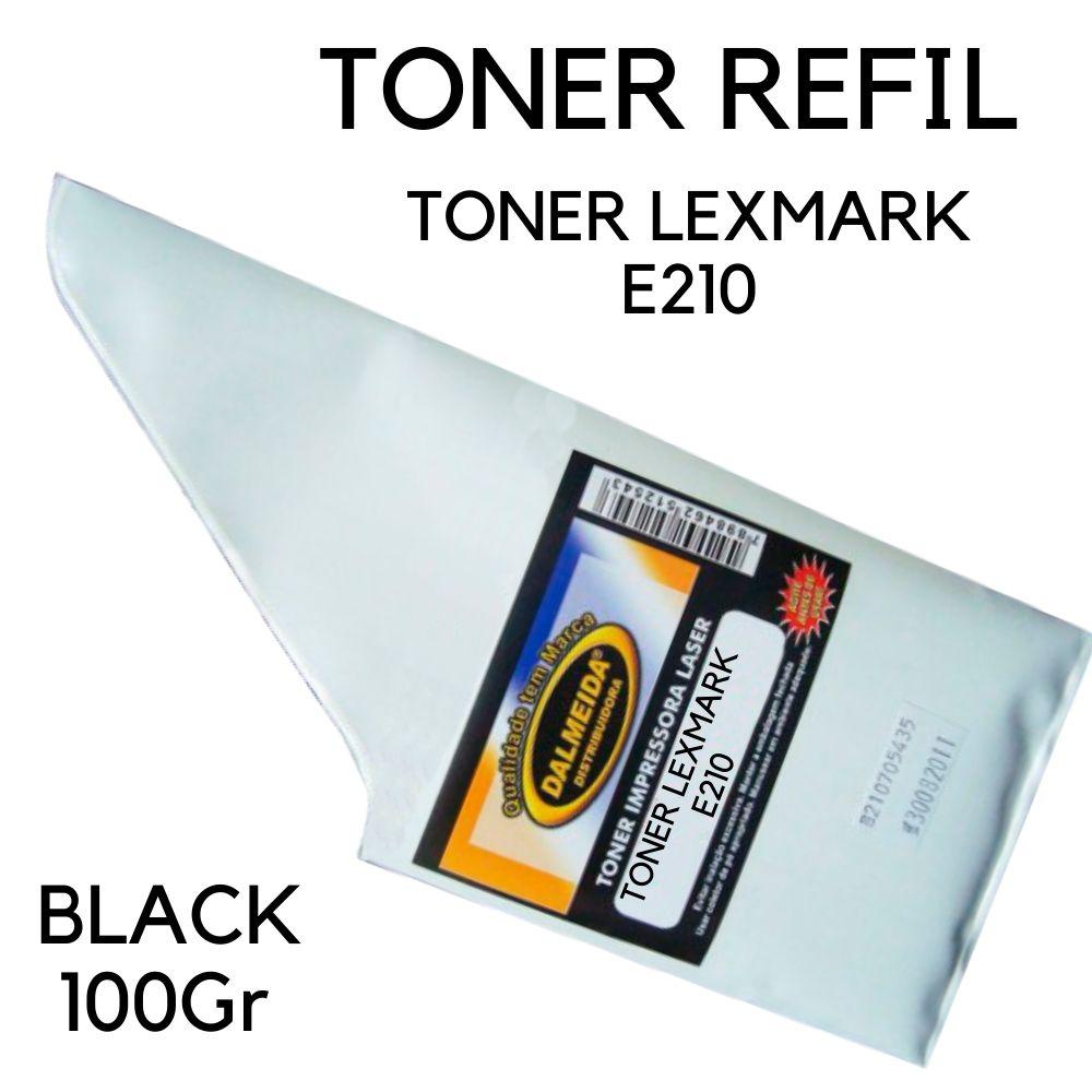 TONER LEXMARK  E210 | E210N | 10S0063  100gr REFIL SMALL BAG