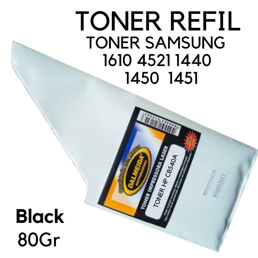 TONER SAMSUNG  1610 4521 1440  1450  1451 80gr REFIL SMALL BAG