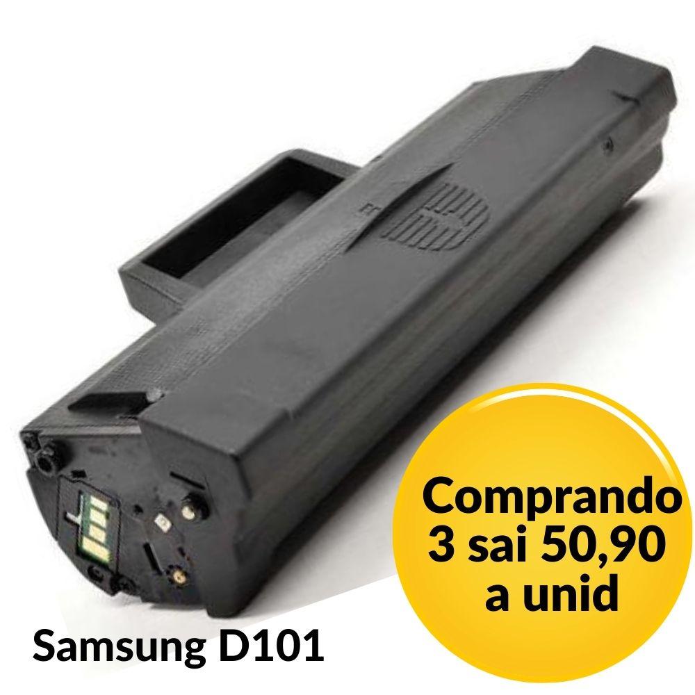 TONER SAMSUNG D 101 - D101 - MLT-D101S, ML 2165, SCX 3405W, SCX 3405. COMPATÍVEL - 1.5K Samsung ML-2160 | ML 2160 | ML2160 Samsung ML-2162 | ML 2162 | ML2162 Samsung ML-2165 | ML 2165 | ML2165 Samsung