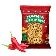 Amendoim Torrado sabor Pimenta Mexicana Mandubim 180g