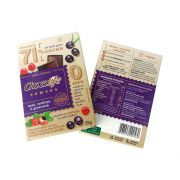Chocolate com Açaí, Acerola e Guaraná 71% Cacau Chocolife Senses 25g