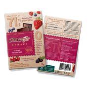 Chocolate com Frutas Vermelhas 71% Cacau Chocolife Senses 25g