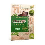 Chocolate com Matchá e Limão 71% Cacau Chocolife Senses 25g