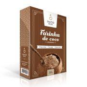 Farinha de Coco Marrom Santo Óleo 200g