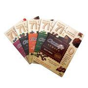 Kit Chocolates 71% Cacau Chocolife Senses (5 unidades) 25g