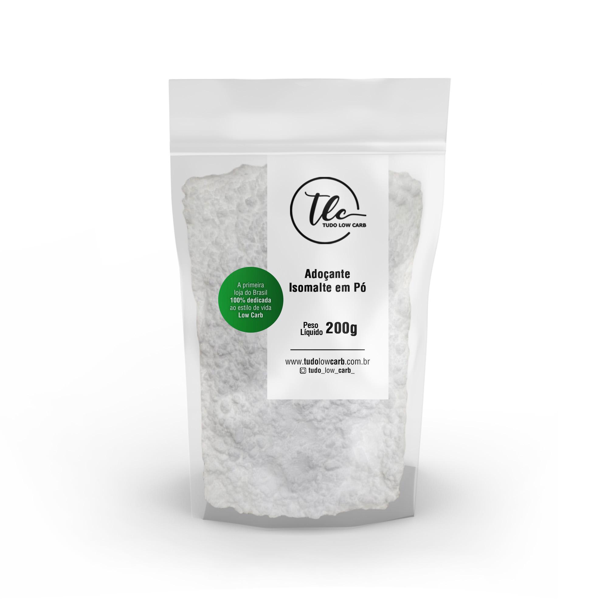 Adoçante Isomalte em Pó 200g  - TLC Tudo Low Carb