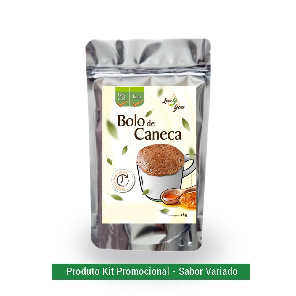 Bolo de Caneca (sabor variado) Low4You 45g  - TLC Tudo Low Carb