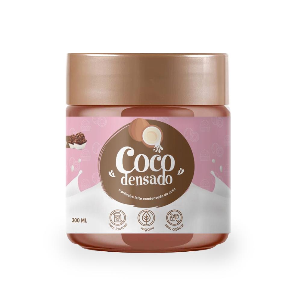 Brigadeiro de Coco Sem Açúcar Cocodensado 200ml  - TLC Tudo Low Carb