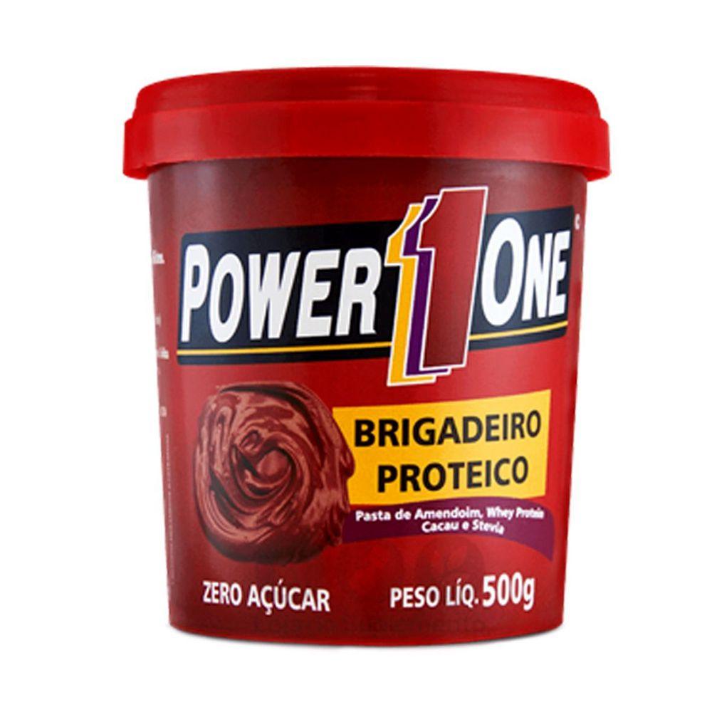 Brigadeiro Proteico Power One 500g  - Tudo Low Carb