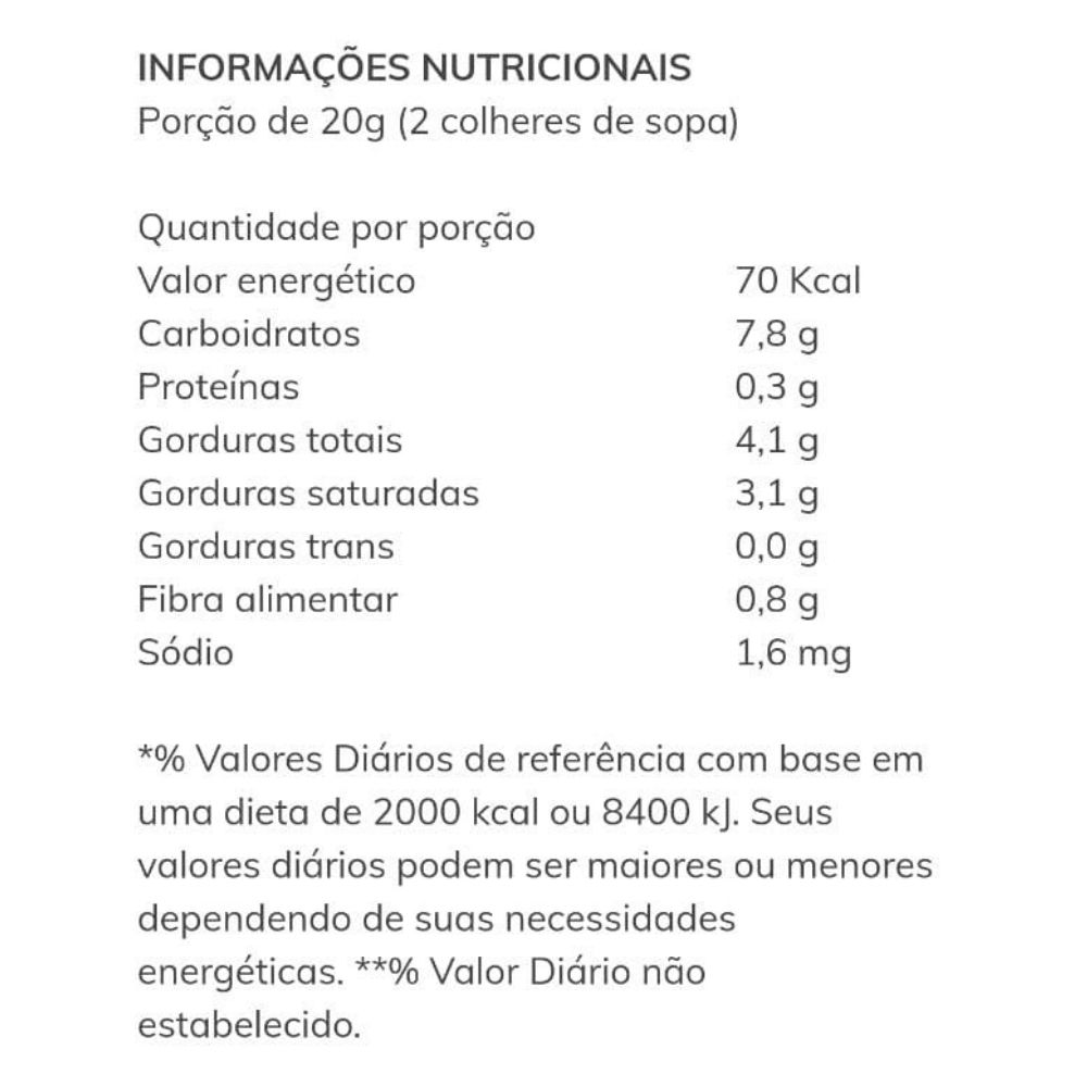 Cobertura de Chocolate Dona Enxuta 200g  - TLC Tudo Low Carb