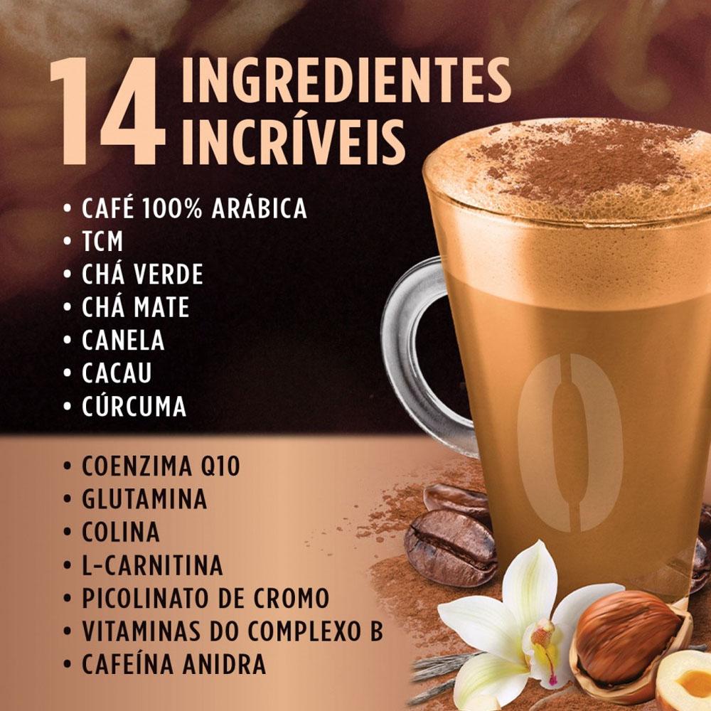 Combo Café Bullet Desincoffee Baunilha e Avelã Desinchá 220g (3 unidades)  - TLC Tudo Low Carb