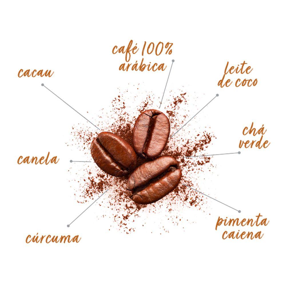 Combo Café Termogênico Evolution Coffee 220g (3 unidades)  - TLC Tudo Low Carb