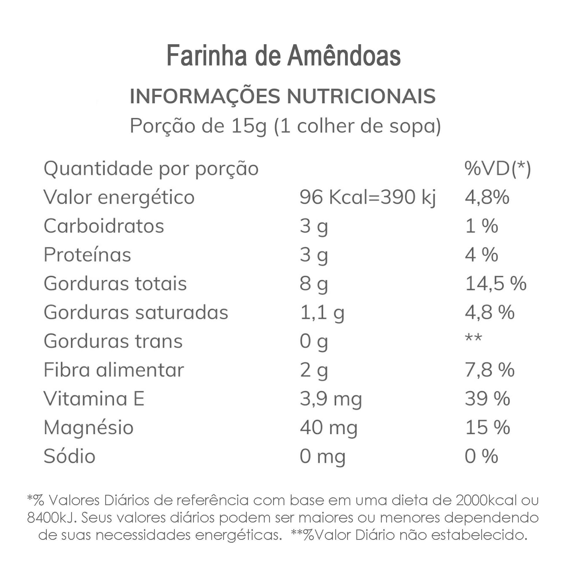 Combo Farinha de Amêndoas 3 kg  - TLC Tudo Low Carb