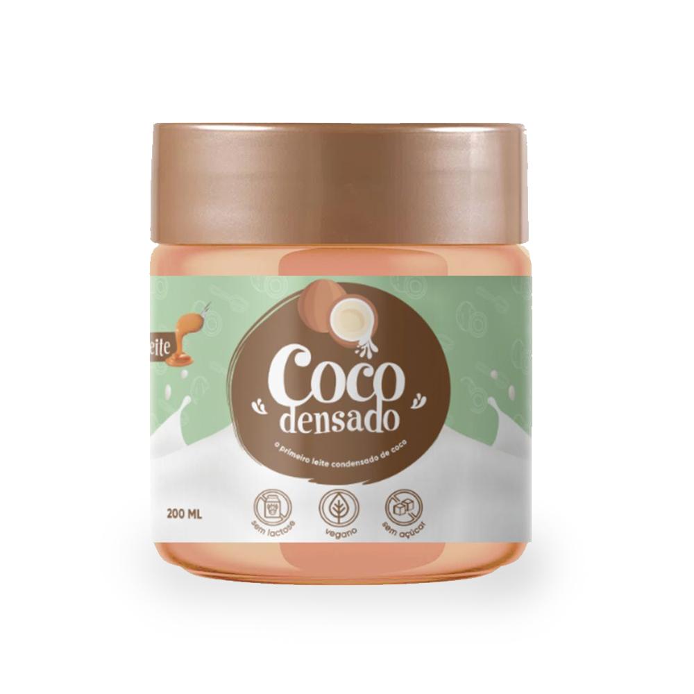 Doce de Leite de Coco Sem Açúcar Cocodensado 200ml  - TLC Tudo Low Carb