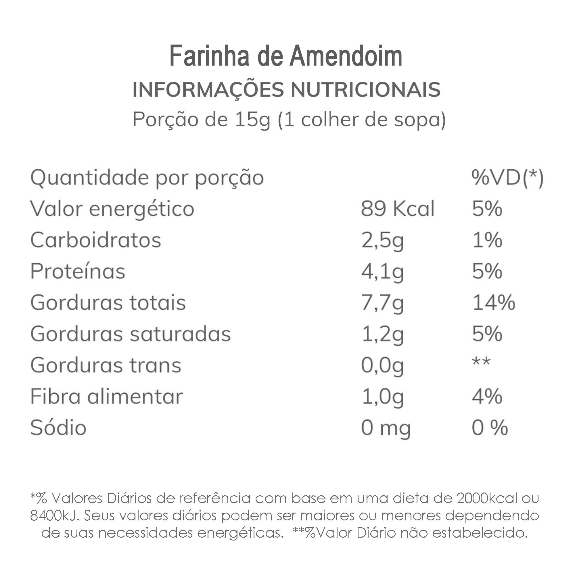 Farinha de Amendoim  - TLC Tudo Low Carb