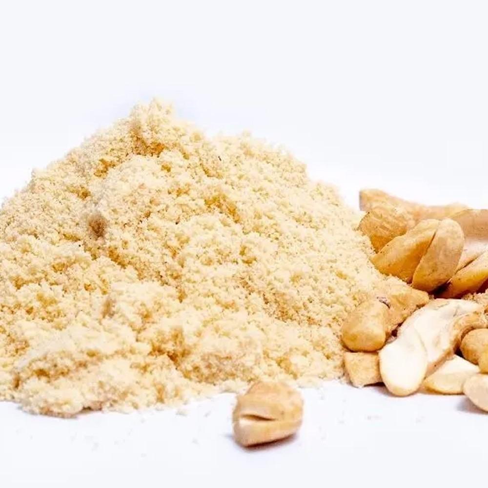 Farinha de Castanha de Cajú Crua (Natural) 1 Kg  - Tudo Low Carb